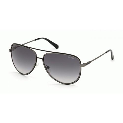 GUESS Okulary przeciwsłoneczne damskie/męskie GU6959 6307C - czarny, filtr UV400