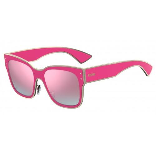 MOSCHINO Okulary przeciwsłoneczne damskie MOS000/S 0MU1VQ - różowy
