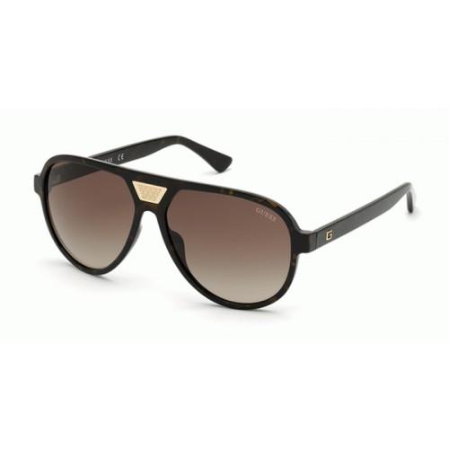 GUESS Okulary przeciwsłoneczne damskie/męskie GU6963 6052F - szylkret, filtr UV400