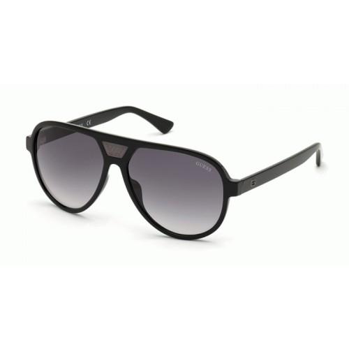GUESS Okulary przeciwsłoneczne damskie/męskie GU6963 6001C - czarny, filtr UV400