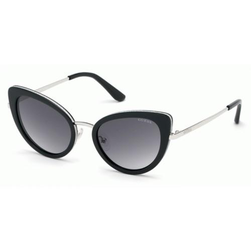 GUESS Okulary przeciwsłoneczne damskie GU7603_5201B - czarny, filtr UV400