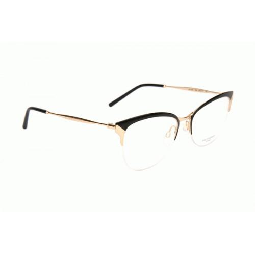 Ana Hickmann Oprawa okularowa damska AH1352 09A - czarny, złoty