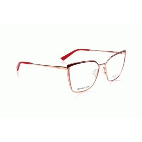 Ana Hickmann Oprawa okularowa damska AH1373 04G - złoty, czerwony