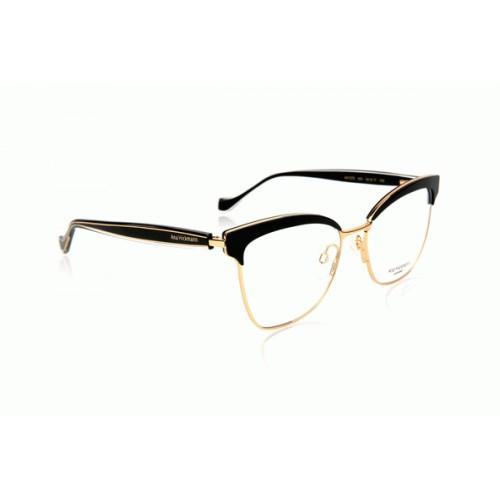 Ana Hickmann Oprawa okularowa damska AH1375 A01 - złoty, czarny