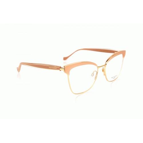 Ana Hickmann Oprawa okularowa damska AH1375 T02 - złoty, różowy