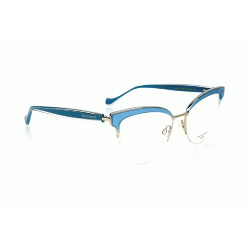 Ana Hickmann Oprawa okularowa damska AH1376 T03S - niebieski