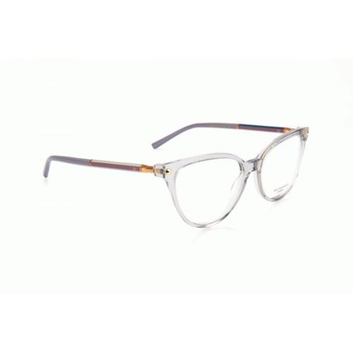 Ana Hickmann Oprawa okularowa damska AH1378 T02 - transparentny, fioletowy
