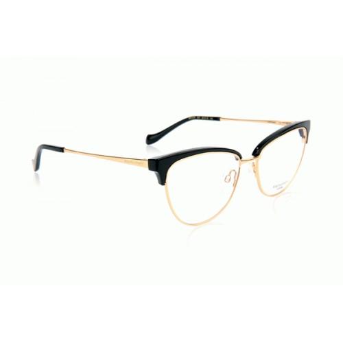 Ana Hickmann Oprawa okularowa damska AH1379 AO1 - czarny, złoty