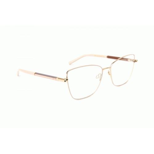 Ana Hickmann Oprawa okularowa damska AH1381 05A - złoty, różowy