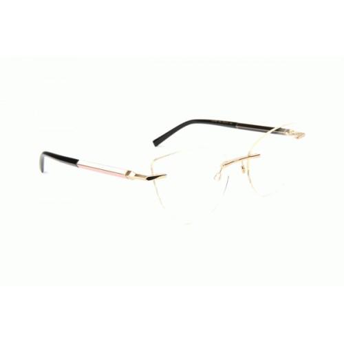 Ana Hickmann Oprawa okularowa damska AH1389 04A - złoty, czarny