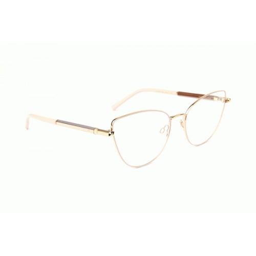 Ana Hickmann Oprawa okularowa damska AH1390 05A - złoty, różowy