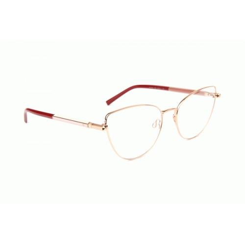 Ana Hickmann Oprawa okularowa damska AH1390 05B - złoty, czerwony
