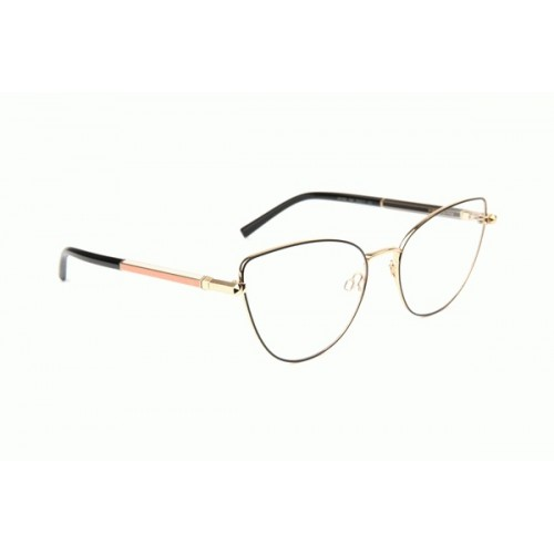 Ana Hickmann Oprawa okularowa damska AH1390 09A - złoty, czarny