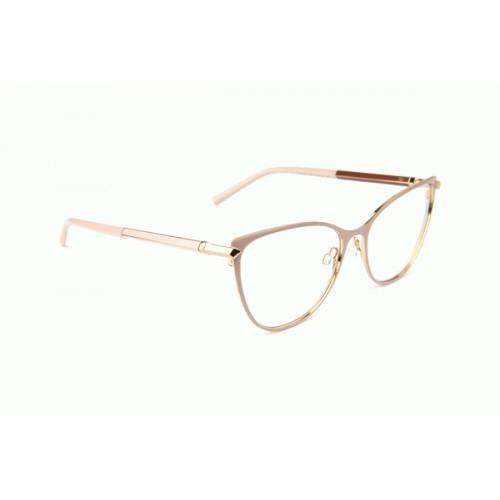 Ana Hickmann Oprawa okularowa damska AH1394 05A - złoty, różowy