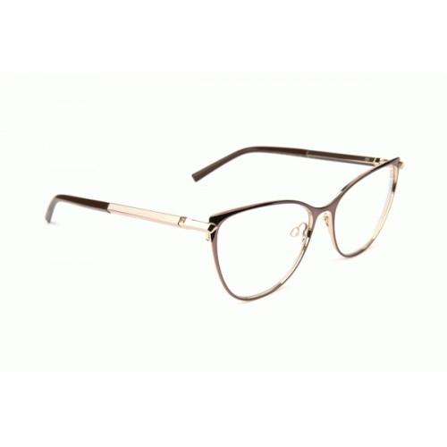Ana Hickmann Oprawa okularowa damska AH1394 07A - złoty, czarny