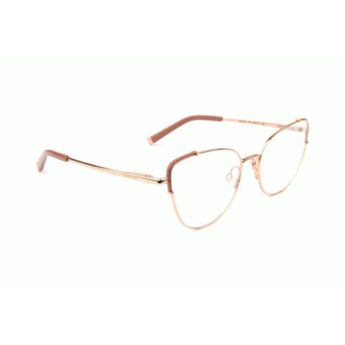 Ana Hickmann Oprawa okularowa damska AH1397 01A - złoty