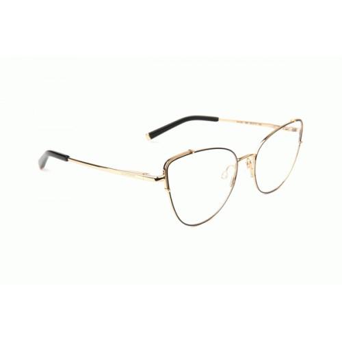 Ana Hickmann Oprawa okularowa damska AH1397 09A - złoty, czarny