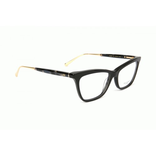 Ana Hickmann Oprawa okularowa damska AH6328 A01 - czarny, złoty