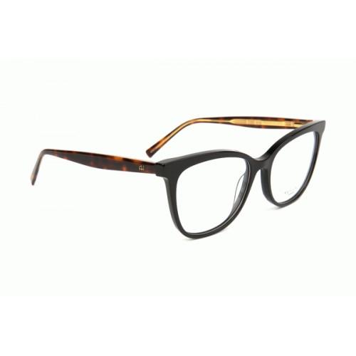 Ana Hickmann Oprawa okularowa damska AH6332 A01 - czarny, szylkret