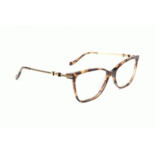 Ana Hickmann Oprawa okularowa damska AH6343 G23 - szylkret, złoty