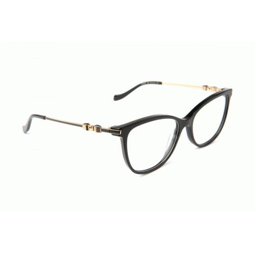 Ana Hickmann Oprawa okularowa damska AH6346E A02 - czarny, złoty