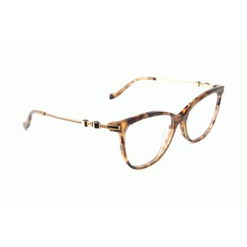 Ana Hickmann Oprawa okularowa damska AH6346E G23 - szylkret, złoty