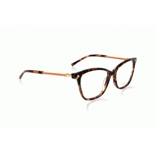 Ana Hickmann Oprawa okularowa damska AH6360 G21 - szylkret, złoty