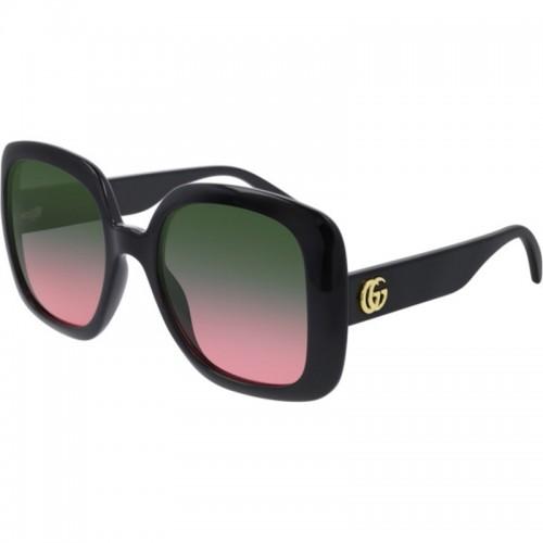 Gucci Okulary przeciwsłoneczne damskie GG0713s 002 - czarny