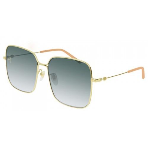 Gucci Okulary przeciwsłoneczne damskie Gucci GG0443S 004 - złoty