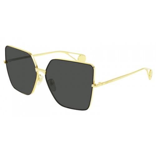 Gucci Okulary przeciwsłoneczne damskie Gucci GG0436S 002 - złoty, filtr UV400