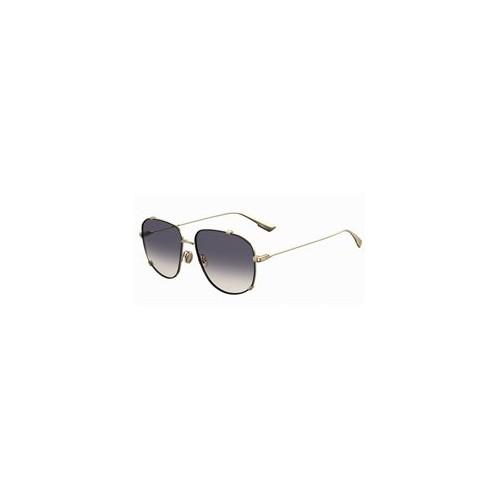 DIOR Okulary przeciwsłoneczne damskie Monsieur 3 - złote, filtr UV 400