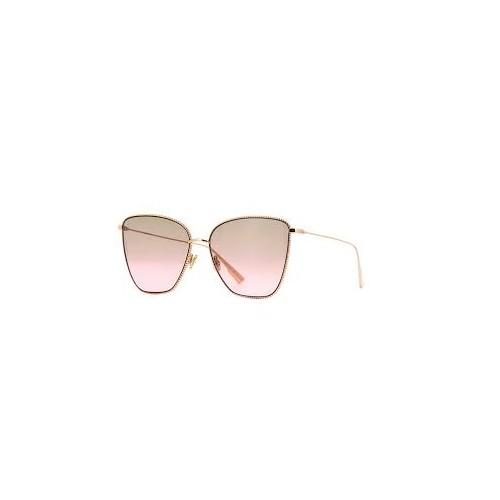 DIOR Okulary przeciwsłoneczne damskie Society1 - złoty, filtr UV 400