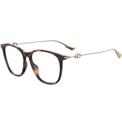 DIOR Oprawa okularowa damska SightO3- brązowy, złoty