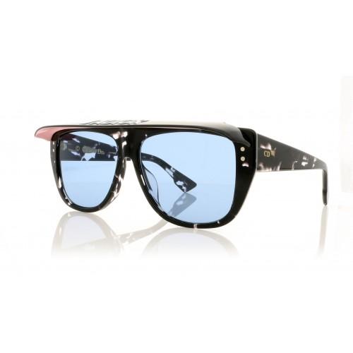 DIOR Okulary przeciwsłoneczne damskie Club2 9WZKU - czarny, różowyfiltr UV 400