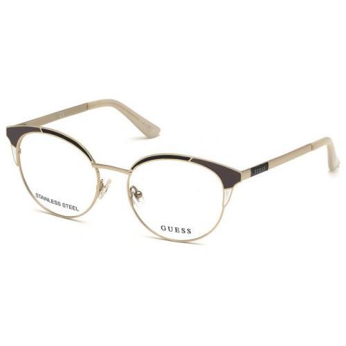 GUESS Oprawa okularowa damska GU2694 005 - srebry, szary