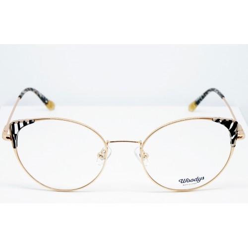 Woodys Okulary korekcyjne damskie Bengal 01 - złoty