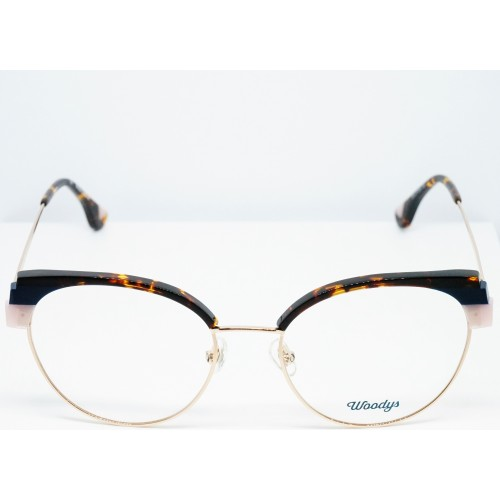 Woodys Oprawa okularowa damska Jellyfish 02 - złoty