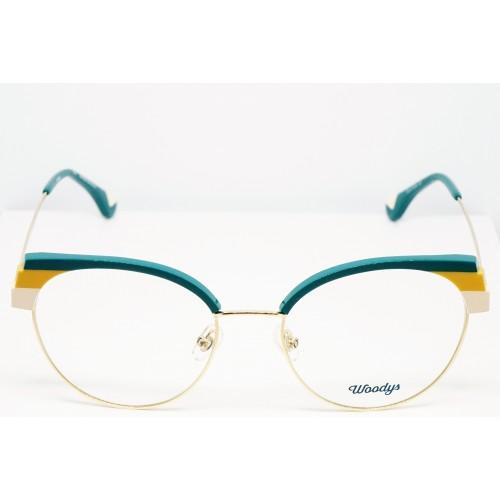 Woodys Oprawa okularowa damska Jellyfish 04 - złoty