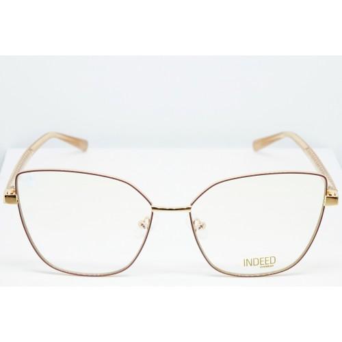 Indeed eyewear Oprawa okularowa damska 3002 C4 - złoty, beżowy