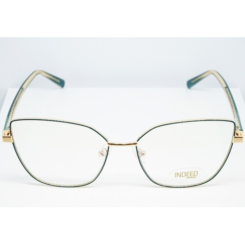 Indeed eyewear Oprawa okularowa damska 3002 C6 - złoty, zielony
