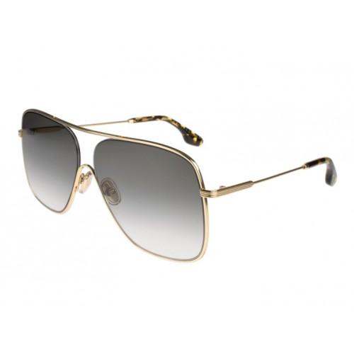 Victoria Beckham Okulary przeciwsłoneczne damskie VB132S - złoty, filtr UV 400