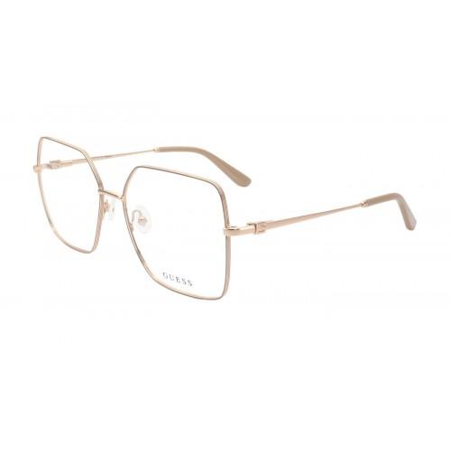 GUESS Oprawa okularowa damska GU2824 - złoty