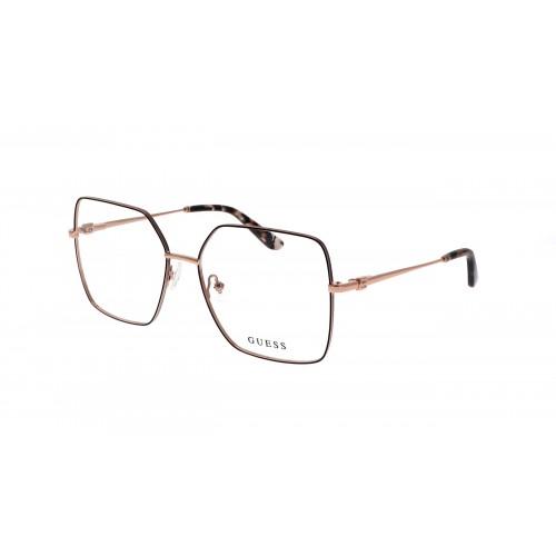 GUESS Oprawa okularowa damska GU2824 - różowe złoto
