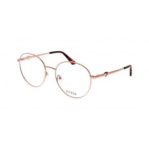 GUESS Oprawa okularowa damska GU2812 - złoty