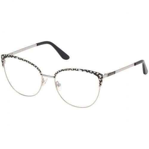 GUESS Oprawa okularowa damska GU2715 - srebrny