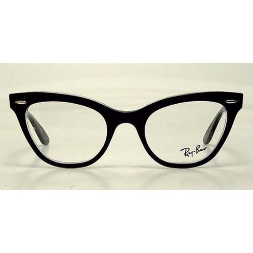 Ray Ban Oprawa okularowa damska RB 5226 - czarny