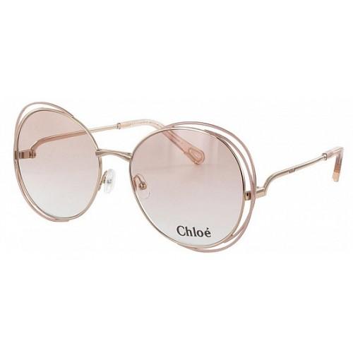 Chloe Okulary przeciwsłoneczne damskie 2138 739 - złoty, różowy, filtr UV 400