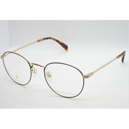 David Beckham Oprawa okularowa męska DB1015 RHL  - złoty