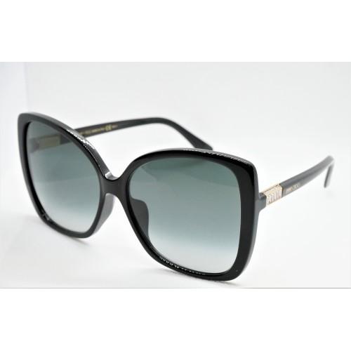 Jimmy Choo Okulary przeciwsłoneczne damskie BECK/F/S 8079O - czarny, filtr UV 400