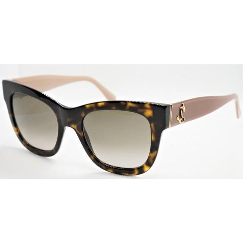 Jimmy Choo Okulary przeciwsłoneczne damskie JAN/S ONSHA - szylkret, filtr UV 400